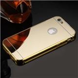 ZRCADLOVÉ pouzdro pro Apple iPhone 6 Plus/6S Plus/7 Plus, zlatá